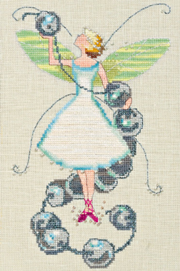 Stitching Fairies Bead Fairy | Nora Corbett Designs