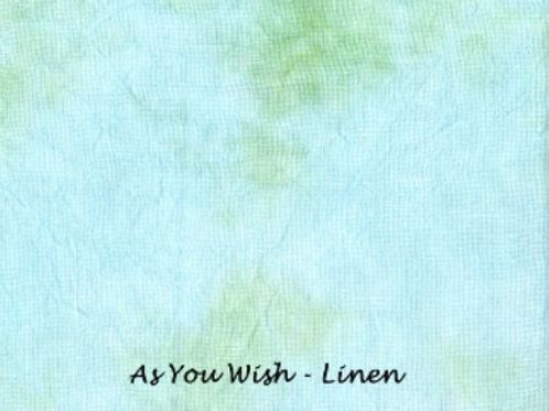 As You Wish | Linen | Under The Sea Fabrics