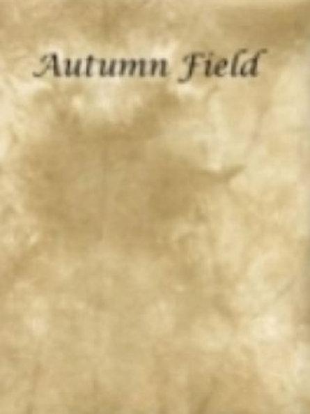 Autumn Field | Hardanger | Silkweaver Fabric