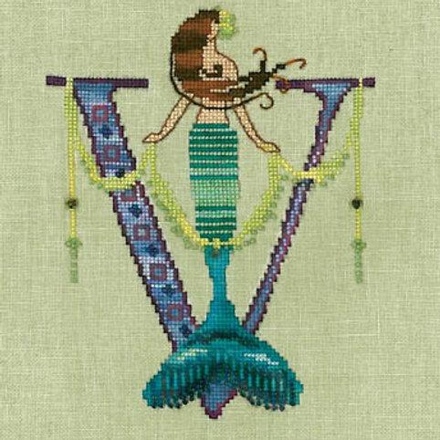 Letters From Mermaids - V | Nora Corbett Designs