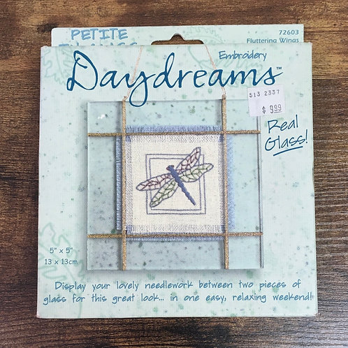 Fluttering Wings - Petite in Glass | Embroidery Daydreams