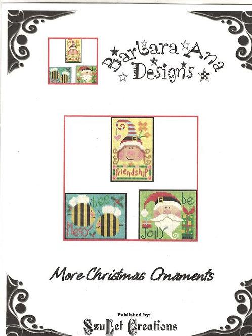 More Christmas Ornaments | Barbara Ana Designs