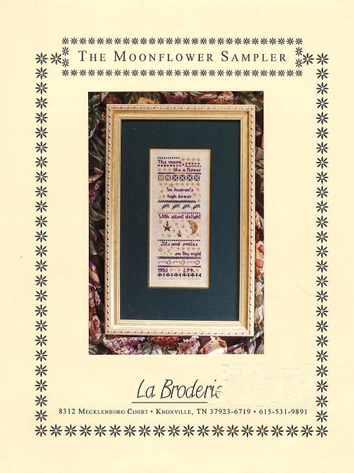 The Moonflower Sampler | La Broderie