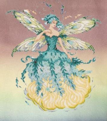 March Aquamarine Fairy by Mirabilia Designs