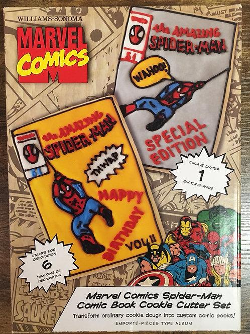 Marvel Comic Cookie Cutter Set