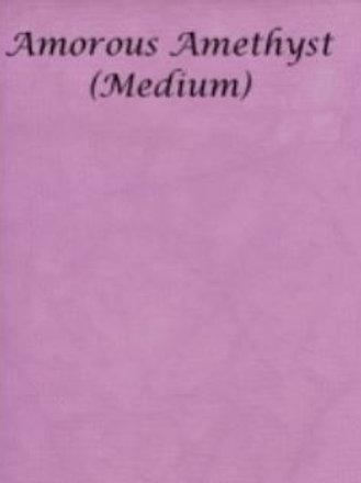 Amorous Amethyst (Medium) | Hardanger | Silkweaver Fabric