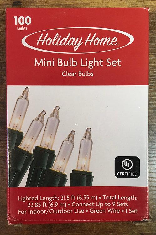 Clear Mini Bulb Light Set