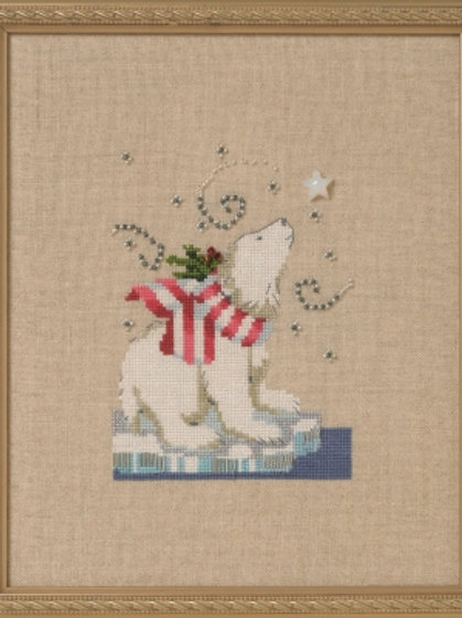 Winter Bear Holiday in the Forest | Nora Corbett Designs