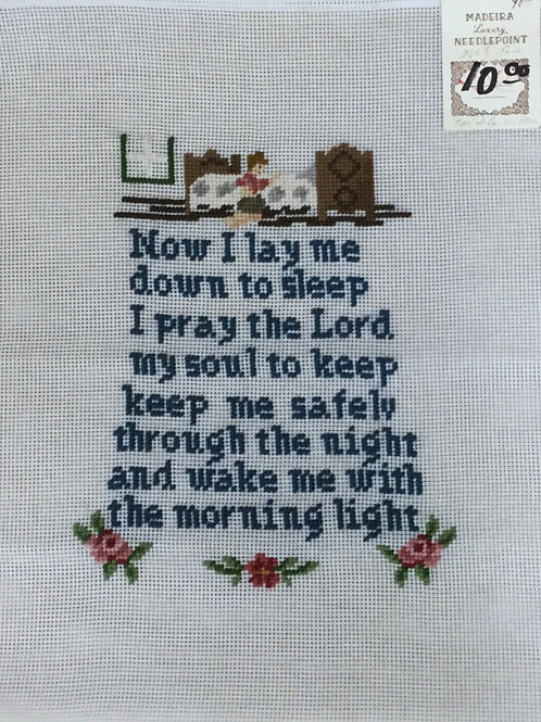 A Child's Prayer | Madeira Needlepoint