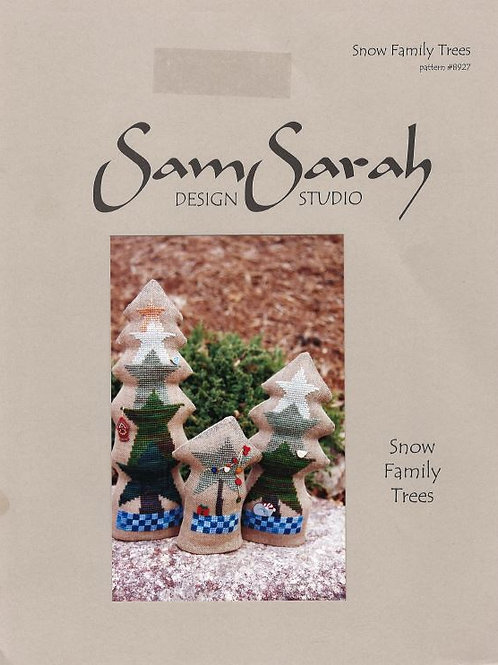 Snow Family Trees | Sam Sarah Design Studio