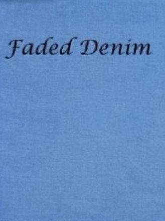 Faded Denim | Aida | Silkweaver Fabrics