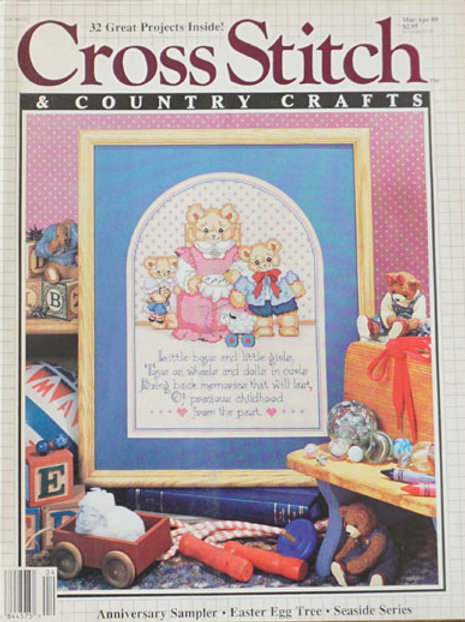 Cross Stitch & Country Crafts Mar/Apr 1989
