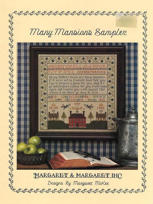 Many Mansions Sampler | Margaret & Margaret Inc.