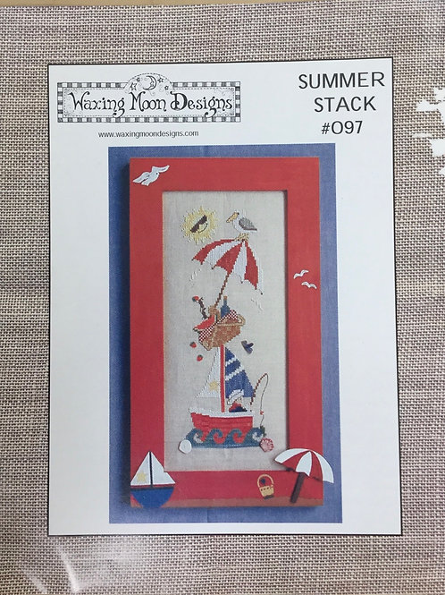 Summer Stack #097 | Waxing Moon Designs