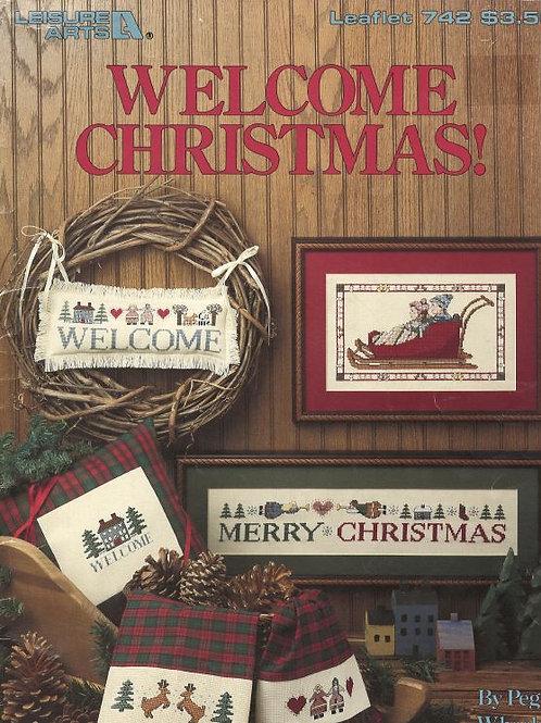 Welcome Christmas! | Leisure Arts