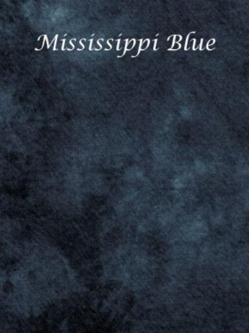 Mississippi Blue | Hardanger | Silkweaver Fabric
