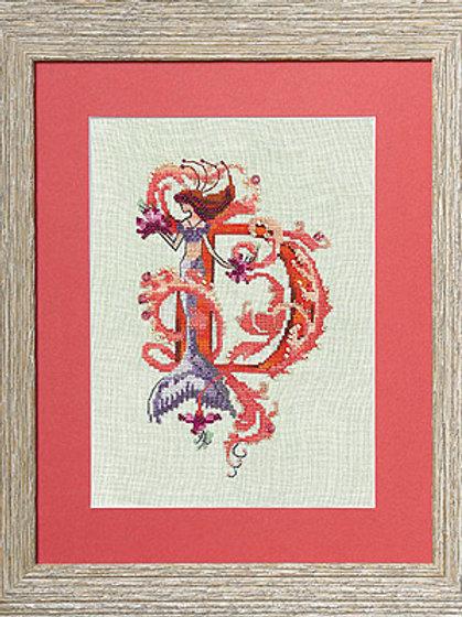Letters From Mermaids - D | Nora Corbett Designs