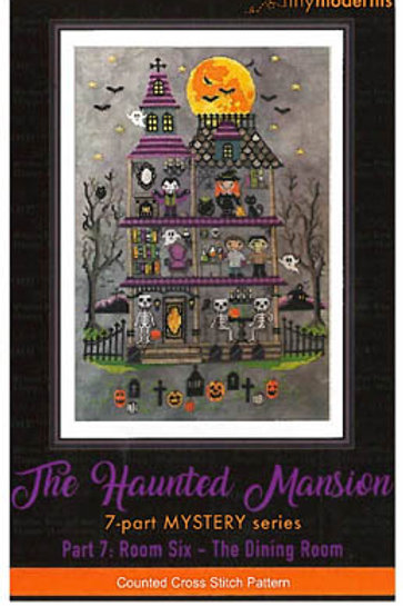 Haunted Mansion Halloween SAL (7 parts)  | Tiny Modernist