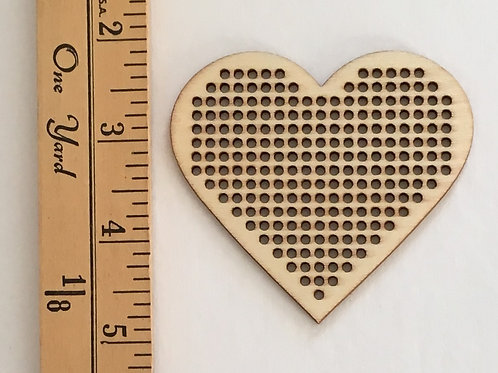 Wood Ornament   Heart