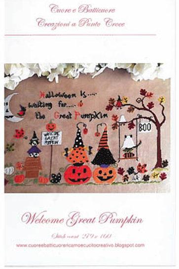 Welcome Great Pumpkin | Cuore E Batticuore