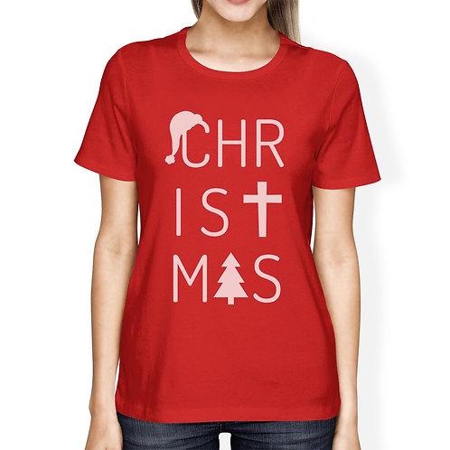 Chris✝mas Red T-Shirt