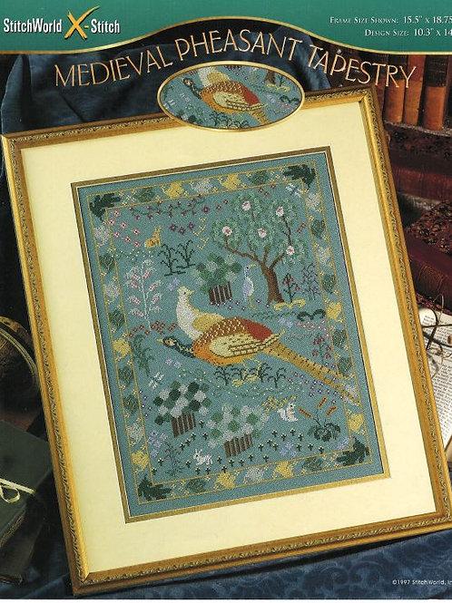 Medieval Pheasant Tapestry | StitchWorld X-Stitch