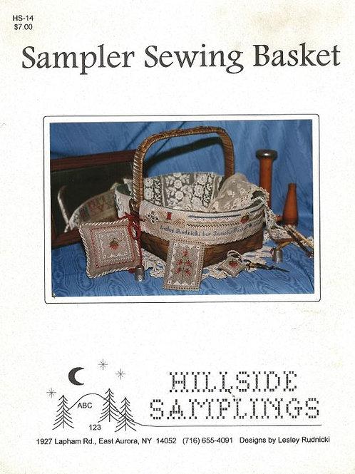 Sampler Sewing Basket | Hillside Samplings