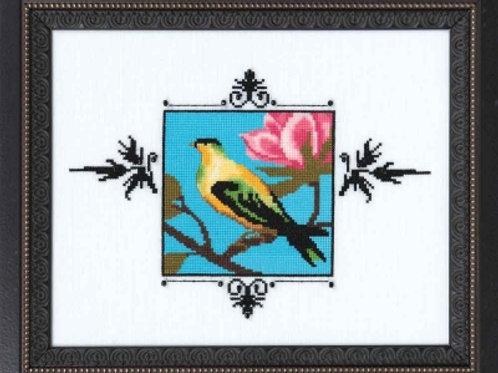 Yellow Figbird Audubon Street Collection | Nora Corbett Designs