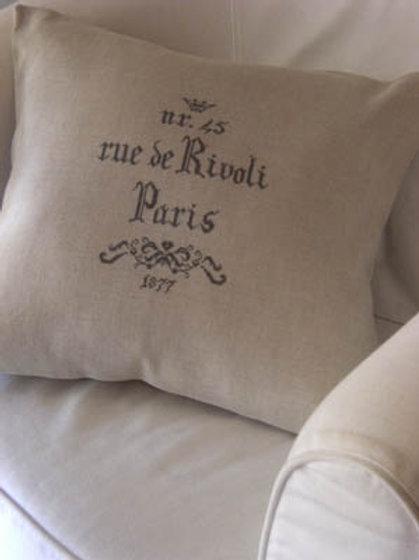 Paris Rue De Rivoli 1877 | Cuore E Batticuore