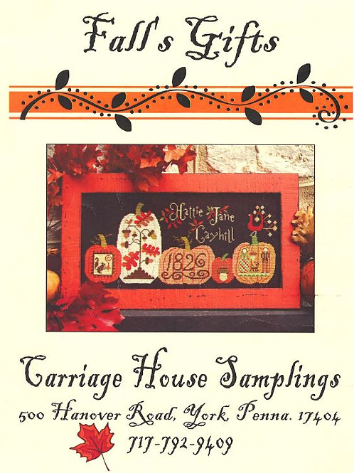Fall's Gifts | Carriage House Samplings