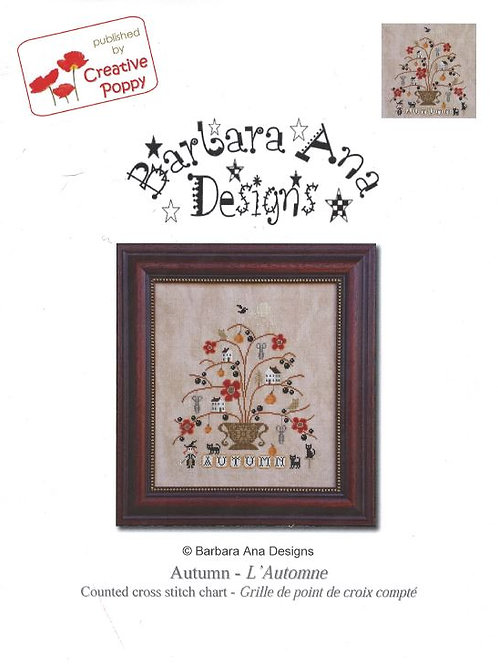 Autumn - L'Automne | Barbara Ana Designs