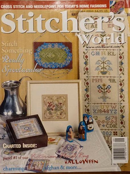 Stitcher's World Sep 2003