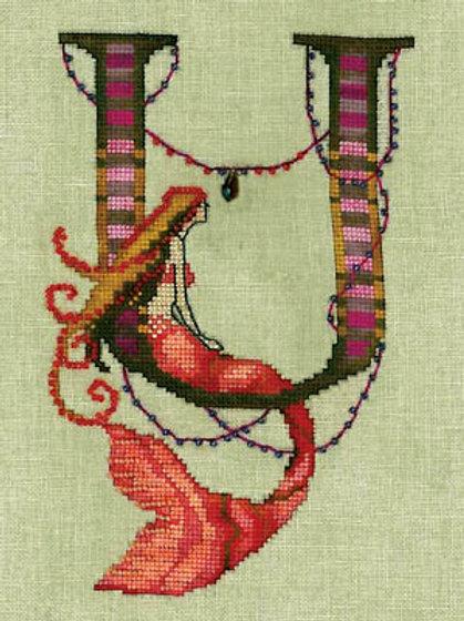 Letters From Mermaids - U | Nora Corbett Designs