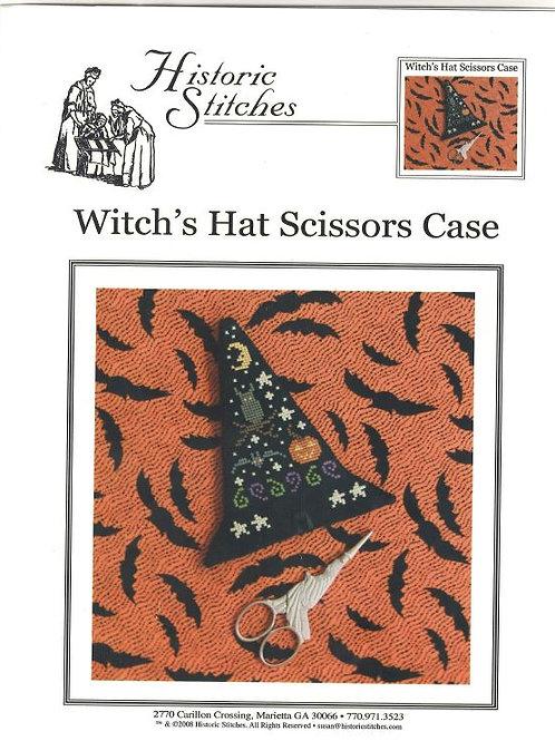 Witch's Hat Scissors Case | Historic Stitches