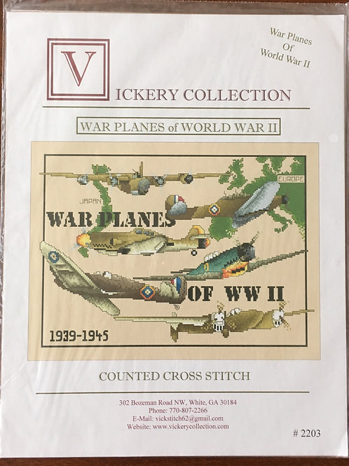 War Planes of WWII | Vickery Collections