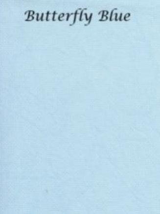 Butterfly Blue | Aida | Silkweaver Fabrics