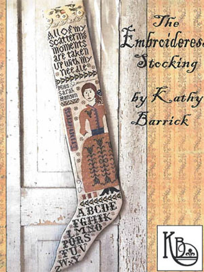 Embroideress Stocking   Kathy Barrick