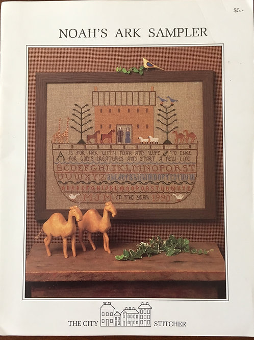Noah's Ark Sampler | The City Stitcher