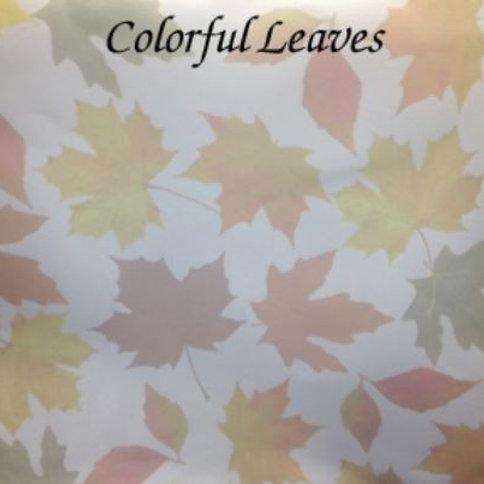 Colorful Leaves | Hardanger | Silkweaver Fabric