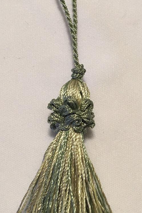 Rayon Tassel w/ looped fringe