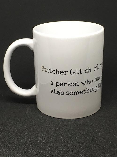 Stitcher Definition Mug
