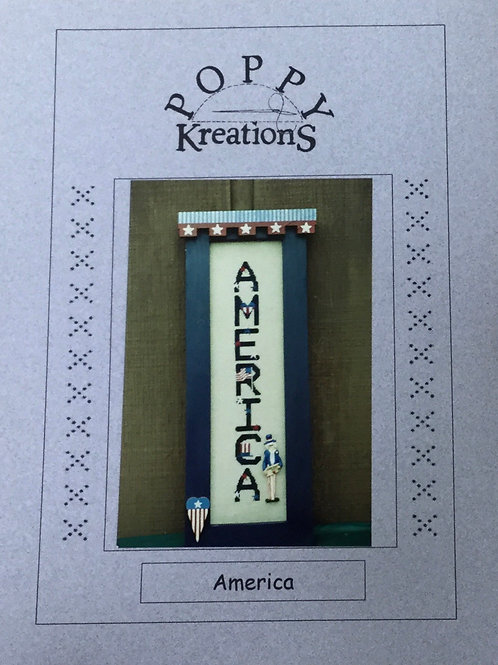 America | Poppy Kreations