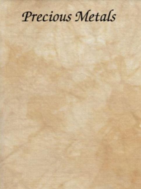 Precious Metals | Evenweave | Silkweaver Fabrics