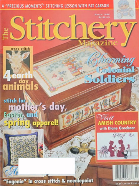 The Stitchery Magazine Feb/Mar 1998