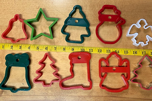 Christmas Cookie Cutter Lot 1