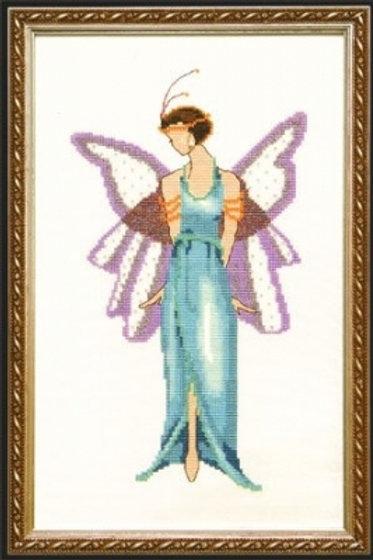 Jade Blue Spring Garden Pixie Couture Collection | Nora Corbett Designs