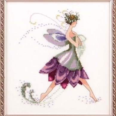 Water Lily Spring Garden Party Pixie Couture  Nora Corbett Designs