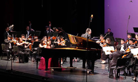 Catherine Ma performs with CalStateLa Symphony Orchestra
