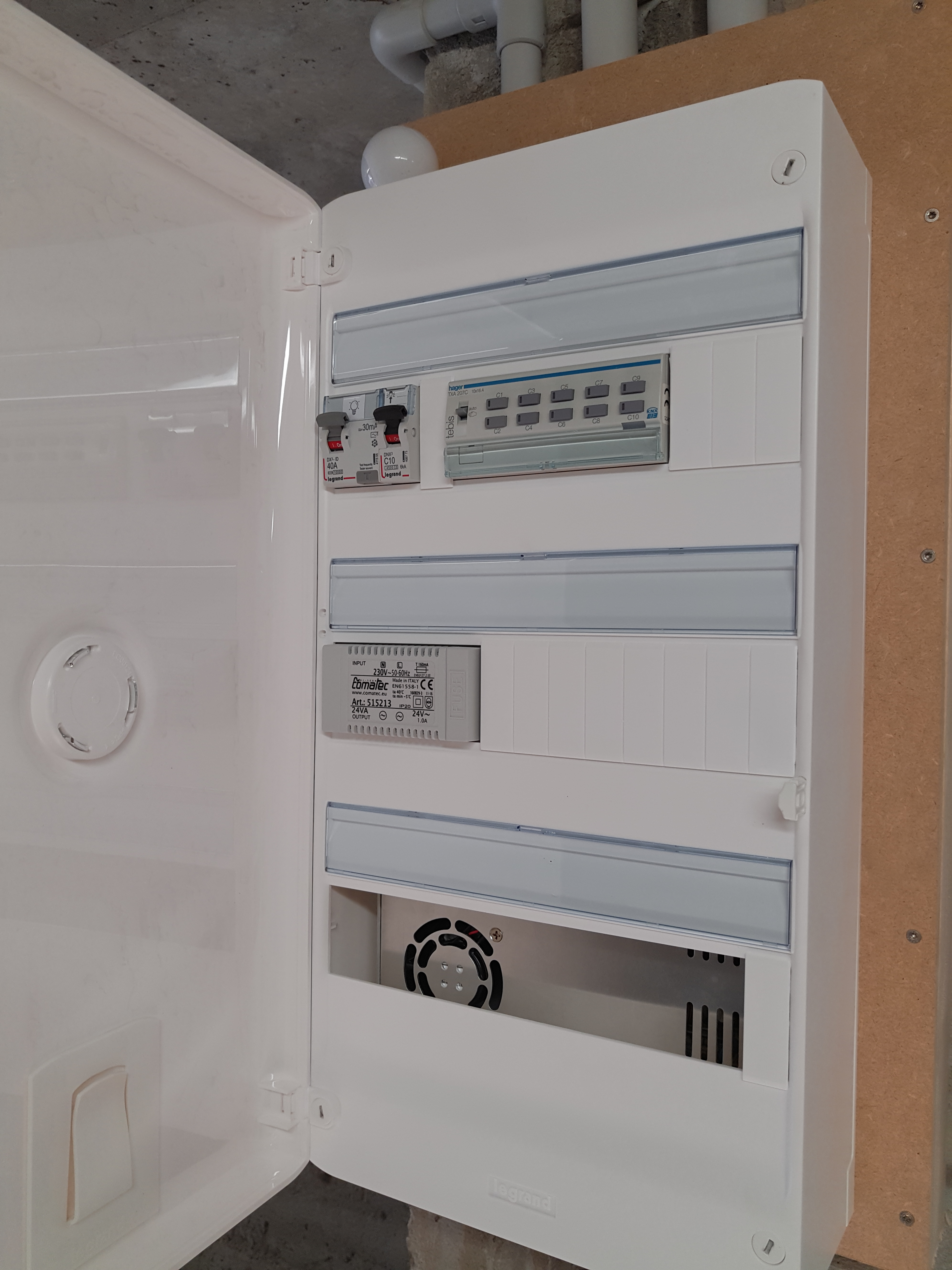 Installation KNX