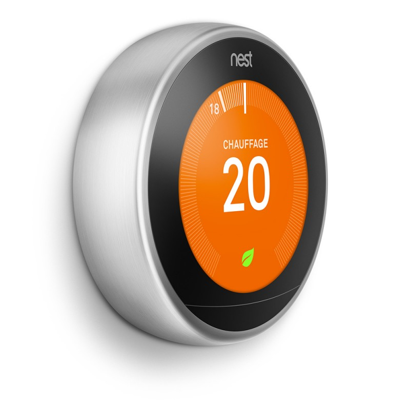Thermostat d'ambiance connectée NEST